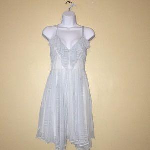 Guess Baby Blue Ruffle Dress Size 4